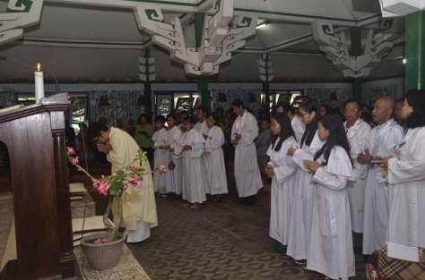 misa Paskah Lansia Santa Theresia Salam
